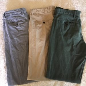 Gap and Old Navy mens pants 30x34